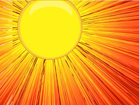 bright: Bright Sunlight Background Vector