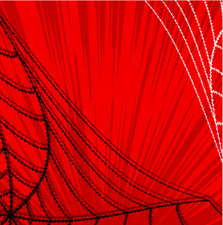 spider web: Abstract Spider Web Halloween Graphic