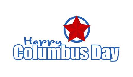 columbus: Columbus Day Vector Banner Design