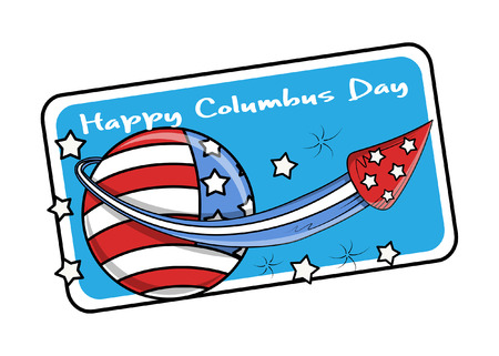 columbus: Columbus Day Vector Graphic Banner