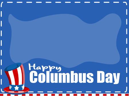 columbus: Columbus Day Holiday Banner Vector