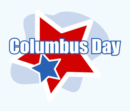 columbus: Columbus Day Vector Background