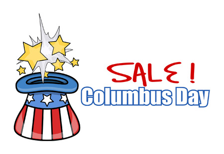 constitution day: Columbus Day Sale Graphic Banner