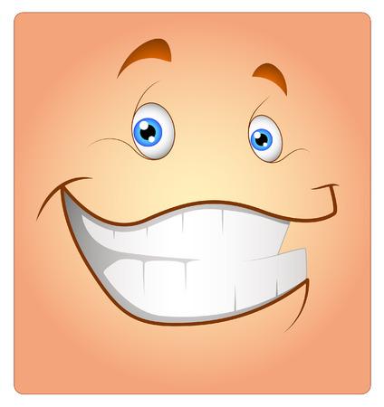 Cheerful Smile Smiley Illustration