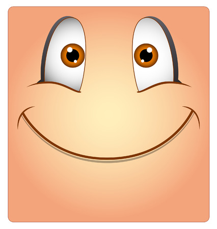 Cute Smile Smiley Illustration