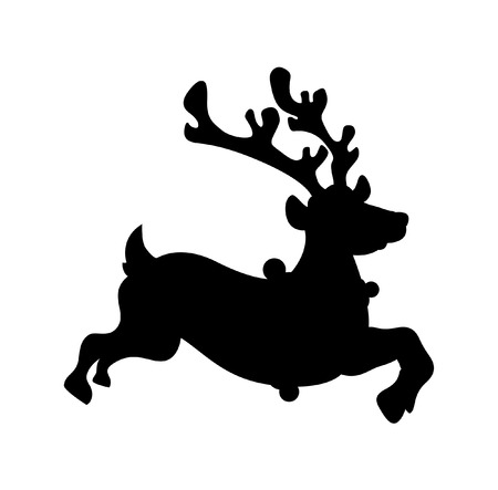rudolph the red nosed reindeer: Reindeer Running Shape