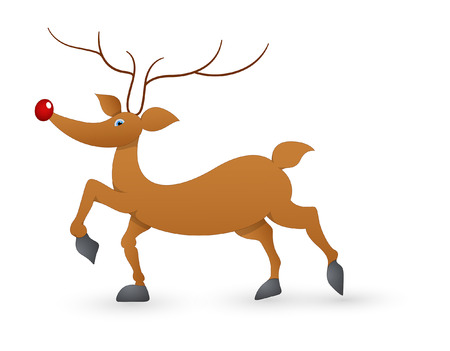 rudolph the red nosed reindeer: Funny Donder Reindeer