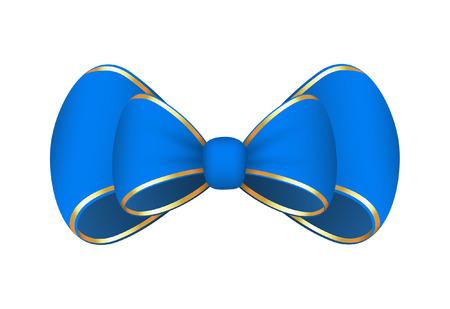ribbon bow: Blue Ribbon Bow