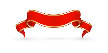 Ribbon Banner Illustration