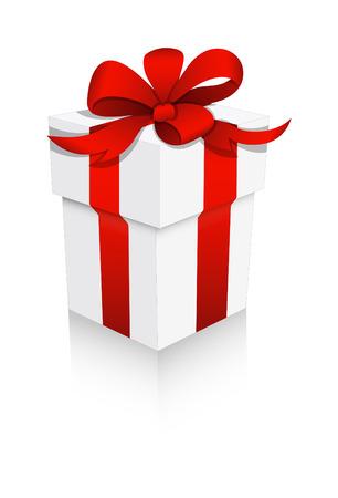 cadeau anniversaire: Anniversaire Gift Box Illustration