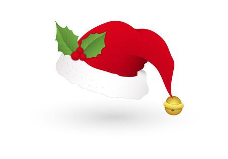 Santa Cap with Holy Leaf
