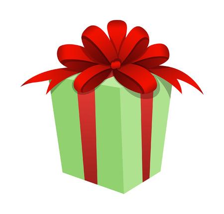 christmas gift: Christmas Gift Box Vector