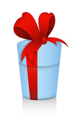 christmas gift: Vector Christmas Gift Box Illustration