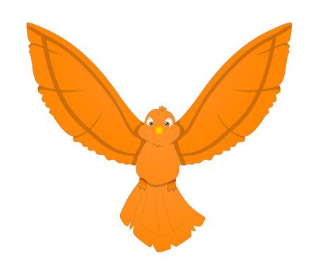 finch: Cute Flying Bird