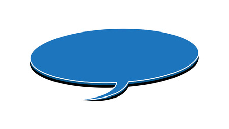 speech bubble vector: Speech Bubble Vector