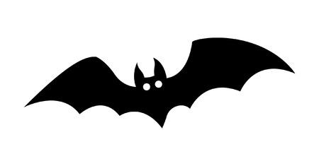 Halloween Bat Wektor Kształt