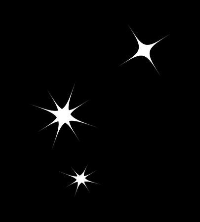 blinking: Stars Background Illustration