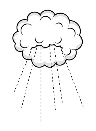 raining: Raining Cloud Vector