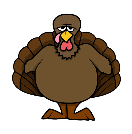 turkey bird: Angry Turkey Bird