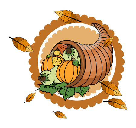objects: Thanksgiving Day Vector Objects