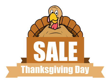 Thanksgiving Day Sale Banner Vector