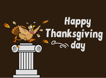 Happy Thanksgiving Day Graphic Vector Vector