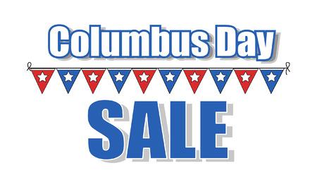 columbus: Columbus Day Sale Banner