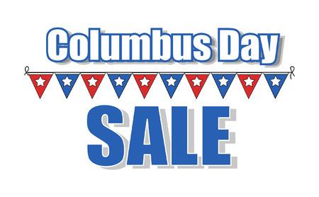 columbus: D�a de la Raza Vector Bandera de la venta Vectores