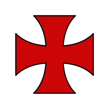 columbus: Columbus Country Flag Symbol Illustration