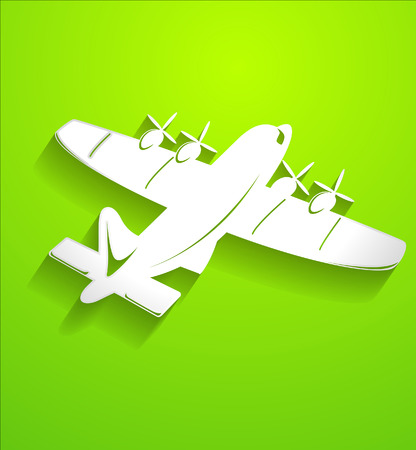 plane vector: Air Plane Vector Shape