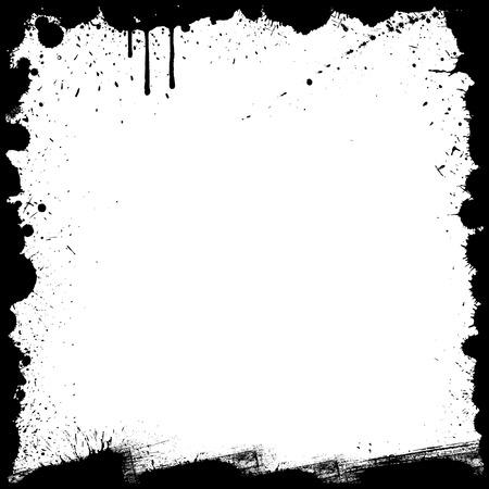 Retro Grunge Border design