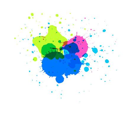 ink drops: Colored Ink Drops