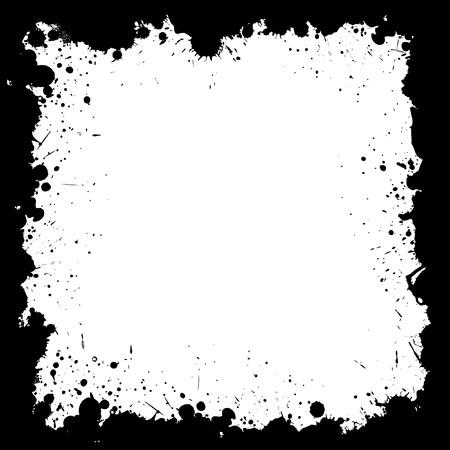 scatter: Grunge Scatter Frame