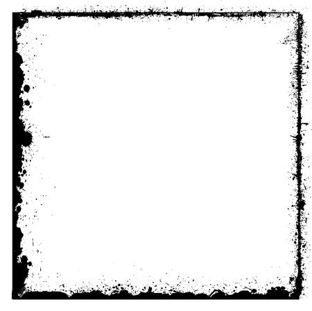 blot: Grunge Blot Frame Design
