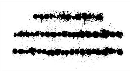 Retro Vector Grunge Lines