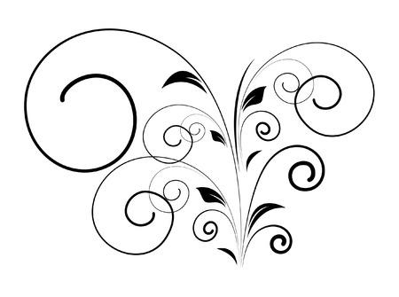 swirl: Swirl Black Shape Illustration