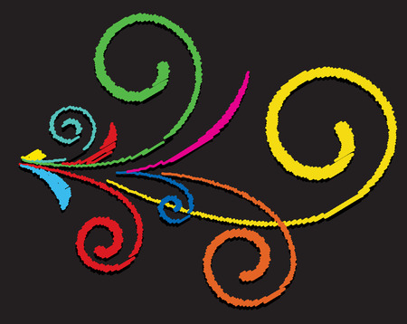 colored: Colored Flourish Elements