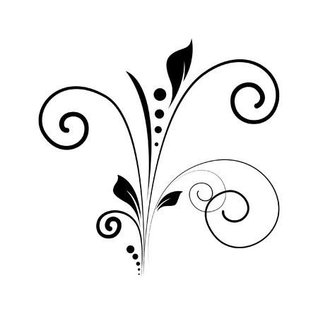 swirl: Swirl Vector Silhouette