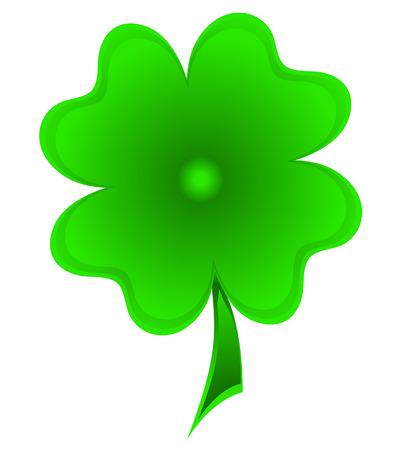 clover leaf shape: St. Patricks Day Clover Leaf
