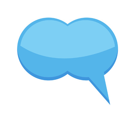 chat bubble: Glossy Chat Bubble