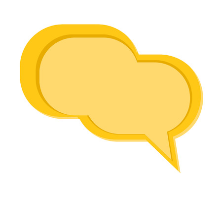 rounded rectangle: Rounded Rectangle Speech Bubble