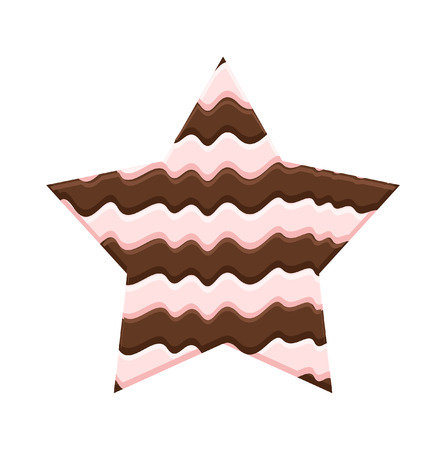 chocolaty: Chocolaty Star Illustration