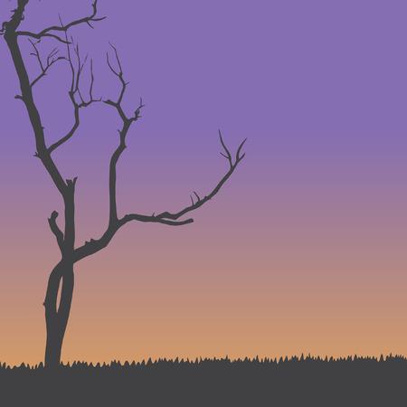 toter baum: Vector Dead Tree