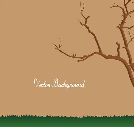 tree dead: Dead Tree Vector Territorio