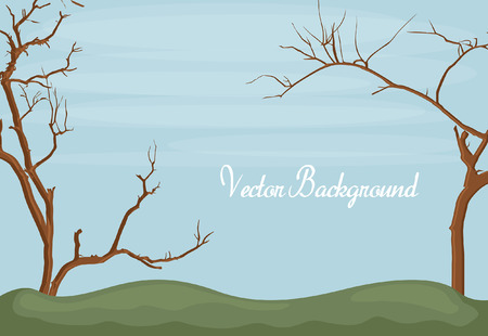 trees landscape: Dead Trees Landscape