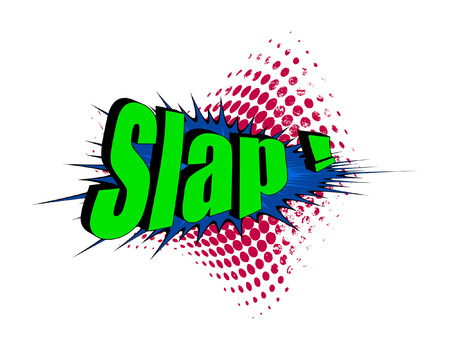 slap: Retro Slap Text Banner