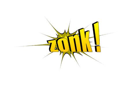 zonk: Zonk Retro Text Banner