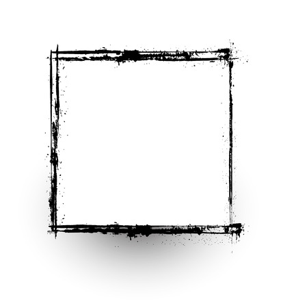 commercial painting: Grunge Frame