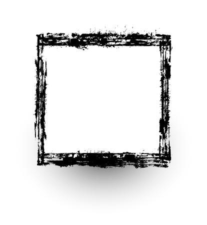 scruffy: Grunge Frame