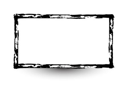 grunge banner: Retro Grunge Frame Banner